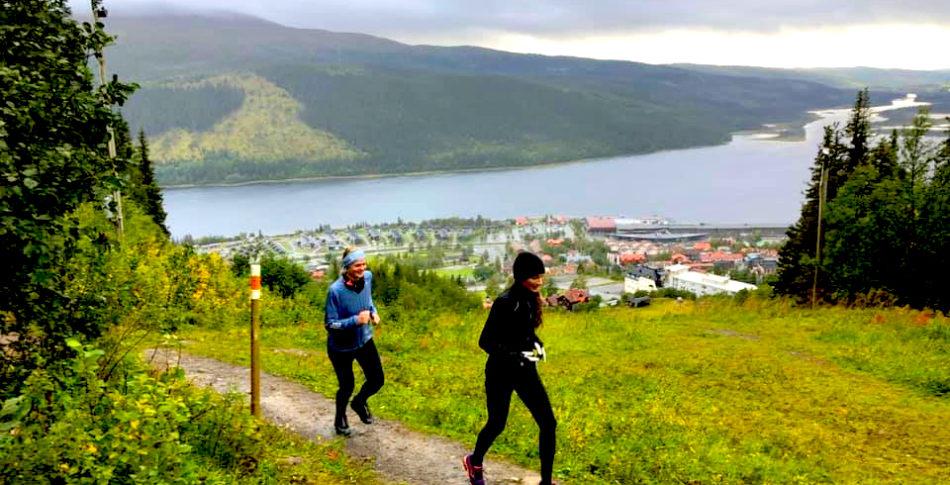En lyxig löparhelg i Åre till ända